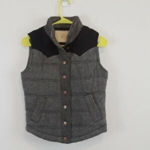 CI-Sono-Quilted-gray-women-039-s-vest-size-small