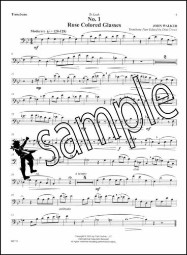 The Trombone in the Attic Sheet Music Book /& Play-Along MP3-CD