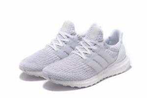 c2e73a7f2 Adidas Ultra Boost Triple White 3.0 Women Running BA8841 Sneakers ...