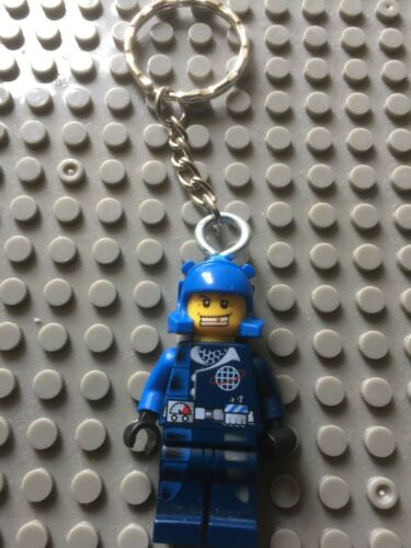 KEYRING Ideal Xmas Gift Bag Zipper #1 LEGO® Mini Figure Keychain