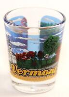 Vermont State Wraparound Shot Glass Shotglass