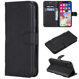 Leather-Book-Flip-Phone-Wallet-Case-Cover-For-Samsung-Galaxy-Note-10-Galaxy-S10