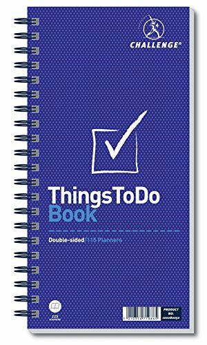 Challenge Planning Book Things to do Today Wirebound Perforated 115 Pages 280x15