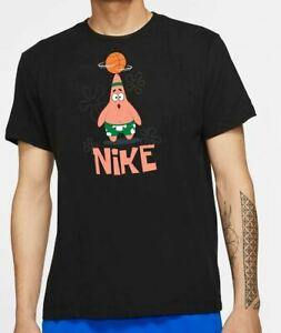 mayor Nube Insatisfecho  Kyrie Nike SpongeBob T-shirt Dri-FIT Men's L | eBay