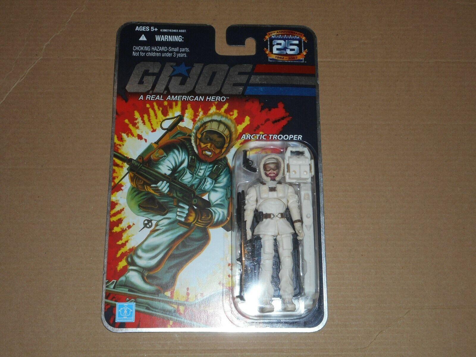 Snow Job Arctic Trooper 2008 G.I Joe Cobra 25th Anniversary MOC Foil v3