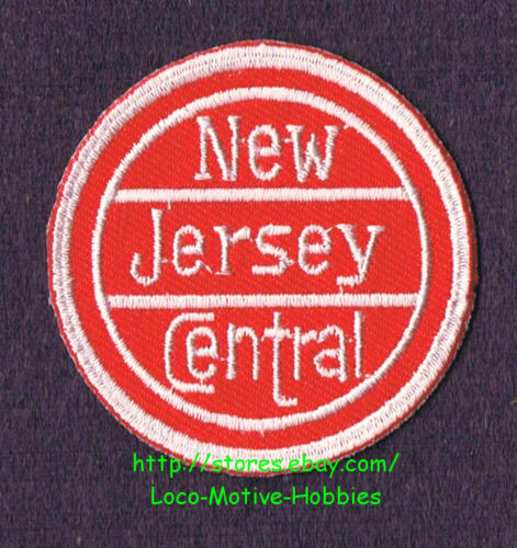 LMH PATCH Badge  NEW JERSEY CENTRAL Railroad  CNJ  Old Logo  Conrail Railway
