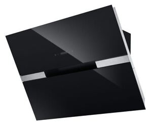 Dunstabzugshaube-Kopffreihaube-EEK-A-Glas-schwarz-LED-PKM-9080BZ-90cm-Edelstahl