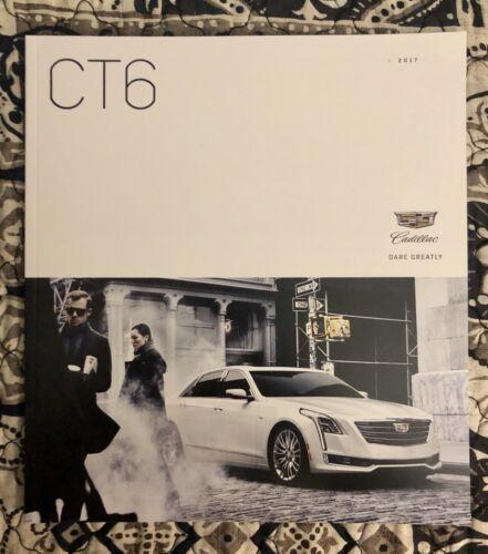 2017 CADILLAC CT6 48-page Original Sales Brochure