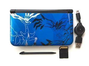 Nintendo 3DS XL LL Pokemon X Pack Xerneas Yveltal Blue Limited Japan Console