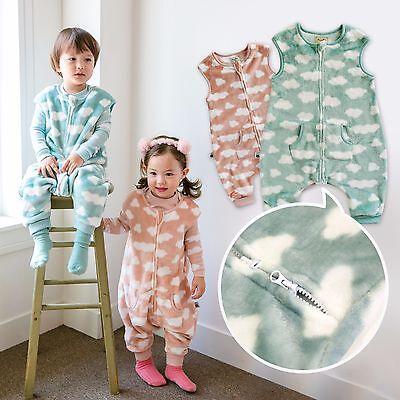 "Vaenait Baby Toddler Kids Girls Ultra Soft Sleepsack /""Mf.Yellow Zoo Park/"" 1T-7T"