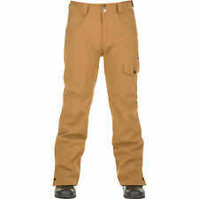 O'NEILL Mens Woodchip Brown Stereo 10K/10K Ski Pants Trousers Small BNWT