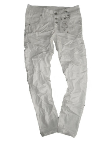 M.O.D Damen Jeans Ulla Slim Ankle White Coated *NEU* Größe 30