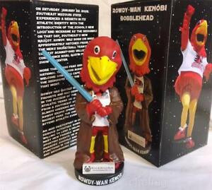 Southeast Missouri State SGA RARE Rowdy-Wan Kenobi Star Wars Bobblehead