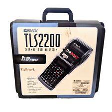 Brady Tls2200 Portable Thermal Label Printing System