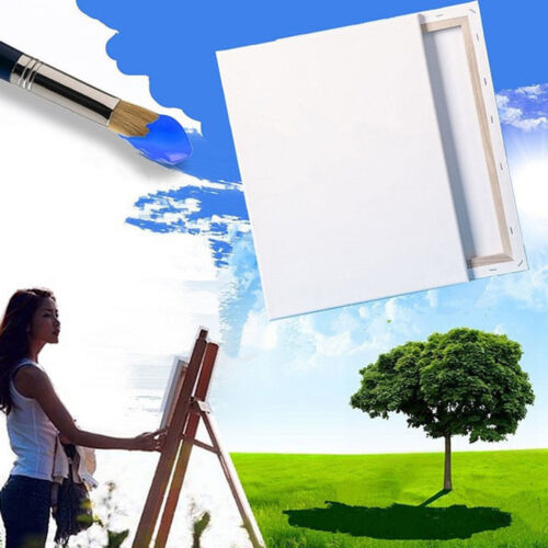 Artist Blank Stertched Acrylic Box Framed Cotton Art Canvas Painting Sales