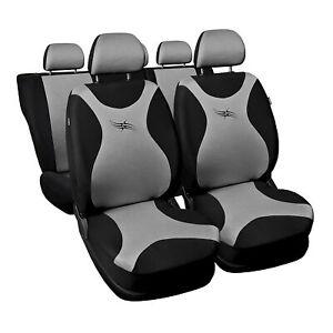 ford ka silber turbo universal sitzbez ge sitzbezug auto schonbez ge ebay. Black Bedroom Furniture Sets. Home Design Ideas