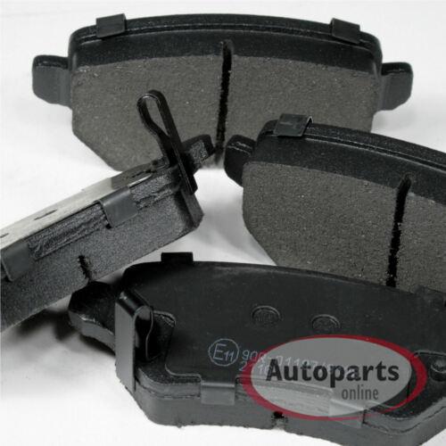 Bremsscheiben Bremsbeläge 2 Spritzbleche für hinten Opel Zafira B