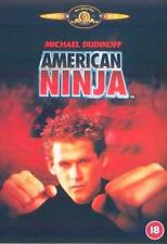 AMERICAN NINJA Michael Dudikoff*Steve James Martial Arts Cult Classic DVD *EXC*