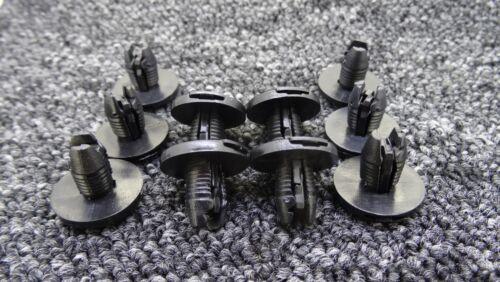 10 X Negro Tira de Ajuste De Arranque Toyota Coches clips de cubierta