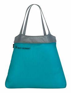 100% Vrai Sea To Summit Ultra-sil Shopping Bag Pacific Blue