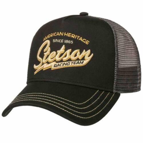 ref 7751159 Casquette Trucker Cap Racing Team STETSON Western homme femme