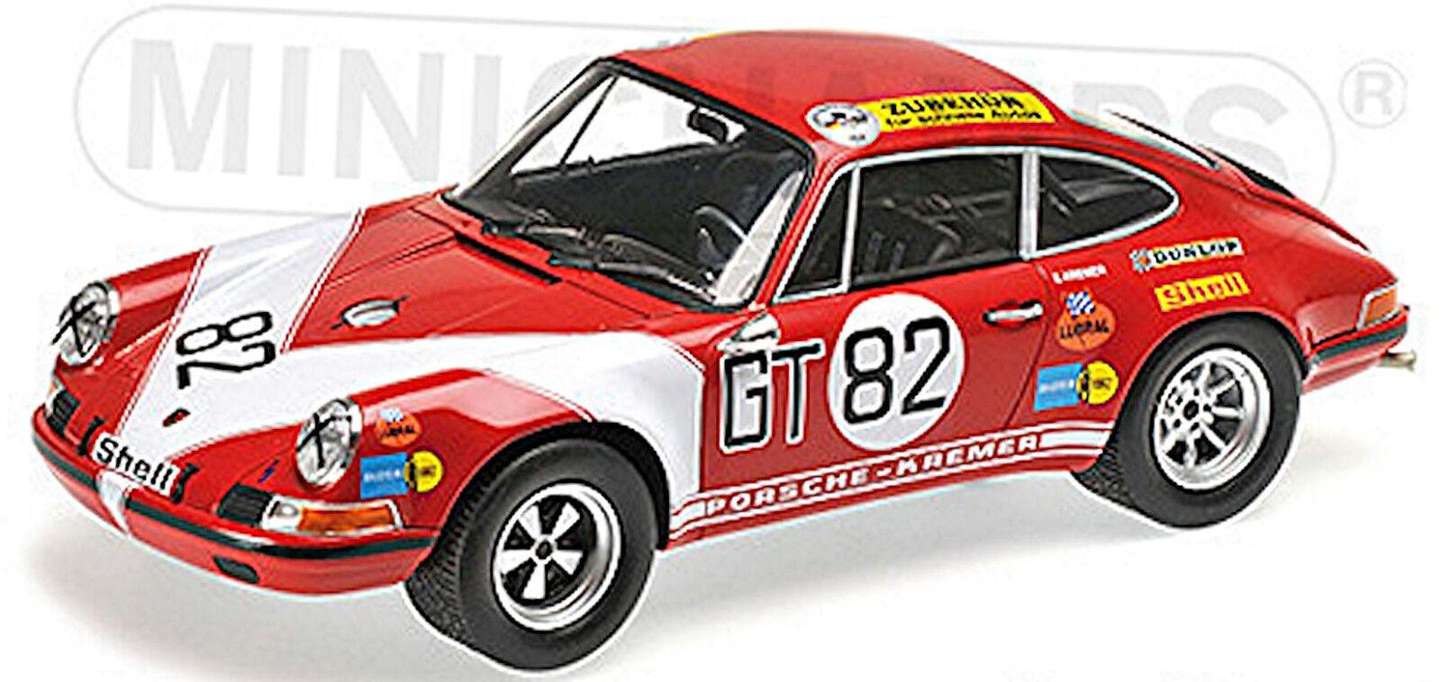 Porsche 911 S Kremer tävlings Team Vinnare 1971 Kremmer Neuhaus 1 18 Minic