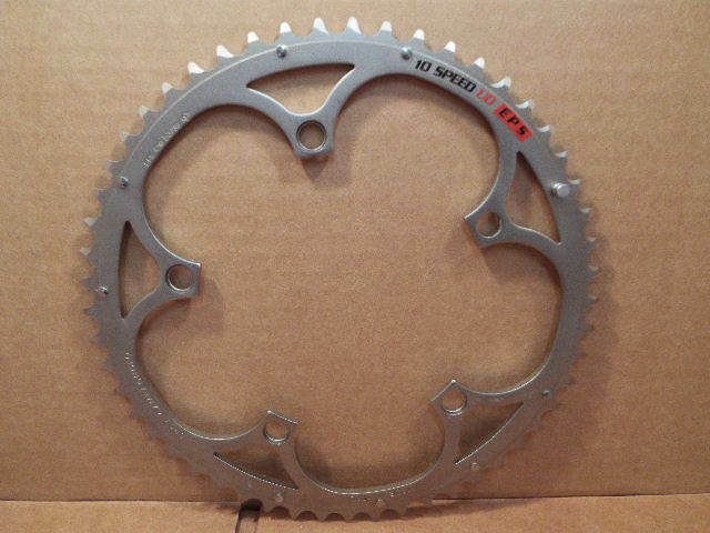 NOS Campagnolo Ultra-Drive Anti-Friction Chainring (53T x 135mm)..Four-Arm Model