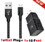 miniature 22 - 3/6/10Ft Micro USB Fast Charger Data Sync Cable Cord For Samsung LG HTC Android