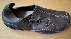 Zapatos marrón oscuro Clarks ébano en eu42 cuero Momo Tamaño 5 Uk8 5 Spirit wxwTrU