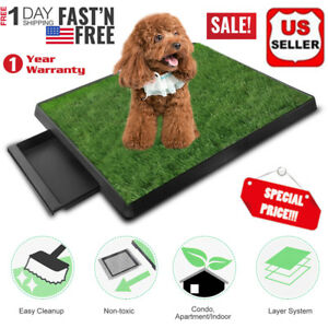 Pet-Potty-Trainer-Grass-Mat-Dog-Puppy-Training-Pee-Patch-Pad-Indoor-Outdoor-New