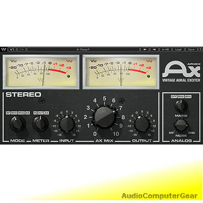 Waves APHEX VINTAGE AURAL EXCITER Audio Software Plugin Native+SoundGrid  NEW | eBay
