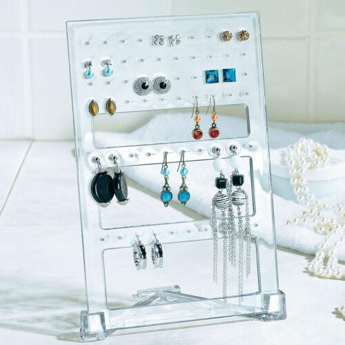 Schicker Ohrringhalter aus Acryl Schmuckhalter Ohringständer Schmuckständer