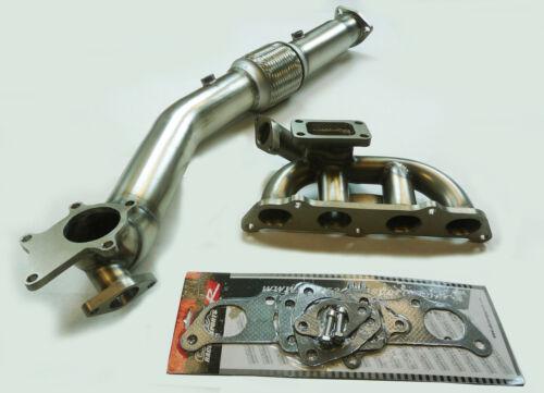 OBX T3 Turbo Manifold Header Fits 00 01 02 03 04 05 Toyota Celica GT-S 1.8L