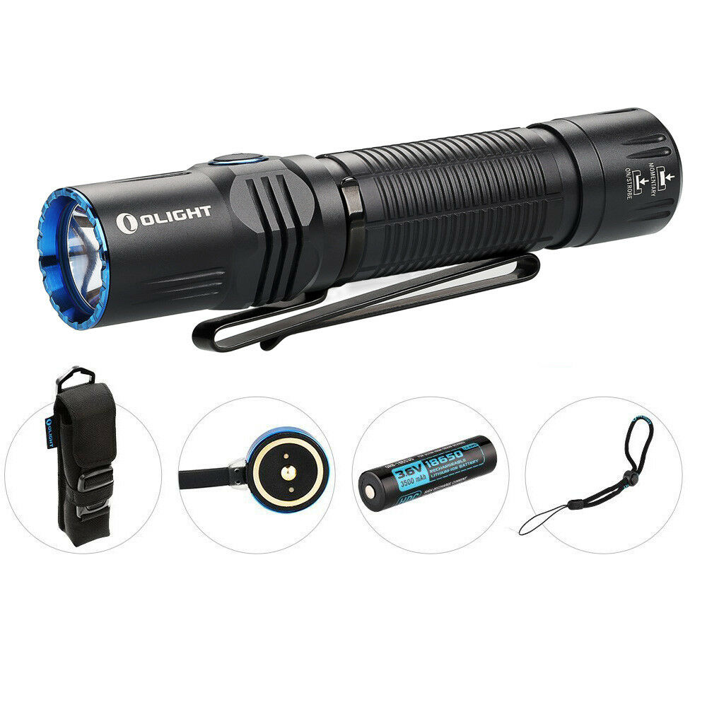 Olight M2R Warrior 1500Lm Rechargeable Weiß) LED Flashlight (LED: Cool Weiß) Rechargeable 21e761