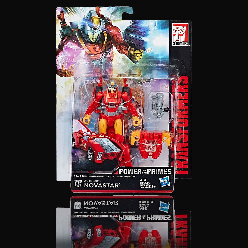 TRANSFORMERS POWER OF THE PRIMES DELUXE NOVASTAR MISB