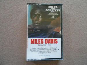 MILES-DAVIS-CASSETTE-TAPE-GREATEST-HITS-VG-Copy-2-99