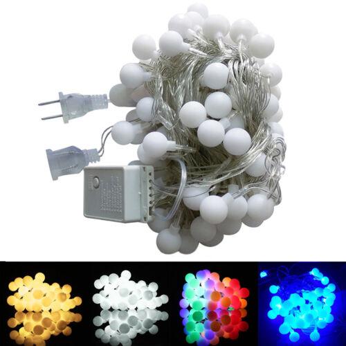 40-100LEDs Globe Ball String Light Fairy Lights 8 Pattern LED String Light Decor