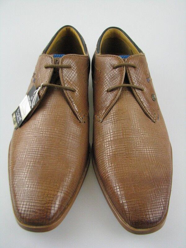Bugatti 312-23301 Herren Business Schuh Leder braun Gr.44    | Qualifizierte Herstellung
