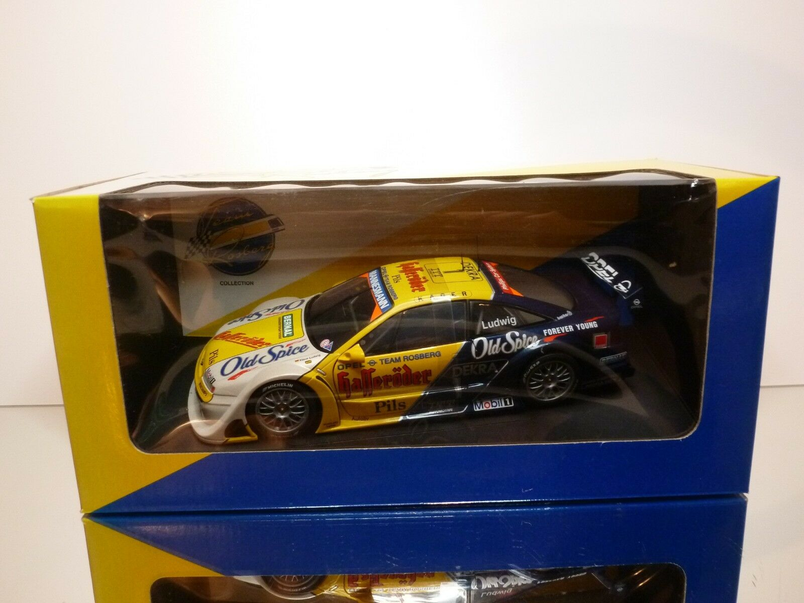 UT MODELS 954201 OPEL CALIBRA DTM 1995 HASSERODER LUDWIG 1:18 - EXCELLENT IN BOX
