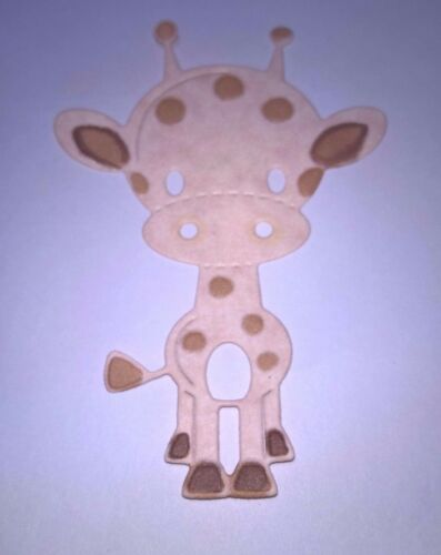Metal Die Girafe fête anniversaire Fabrication Carte Scrapbooking Carte UK