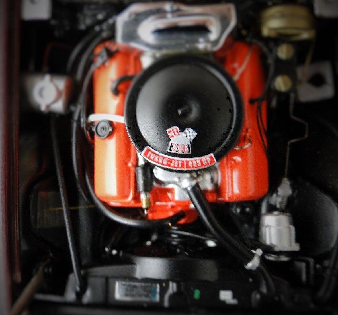 Vette Corvette Chevy 1 Sport Car 1960s 43 Vintage 24 Rare 18 Carousel Maroon 12