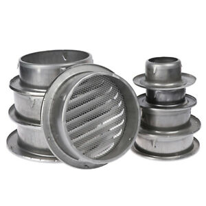 Stainless-Steel-Exterior-Wall-Air-Vent-Grille-Round-Ducting-Ventilation-Grilles