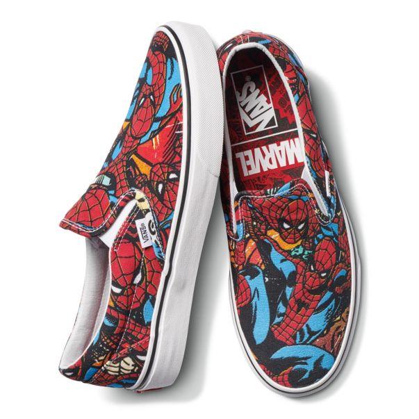 VANS Classic Slip on Marvel Spiderman