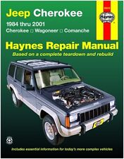 HAYNES REPAIR MANUAL 50010 JEEP CHEROKEE, WAGONEER, COMANCHE '84-'01