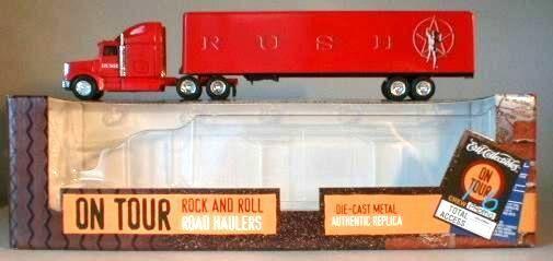 Rush en gira Ertl Die Cast Metal semi camión 1996 Nuevo