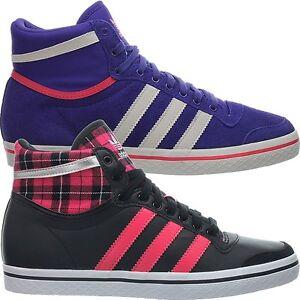 Adidas Top Ten Vulc W Lila oder schwarz Damenschuhe Fashion Sneaker NEU