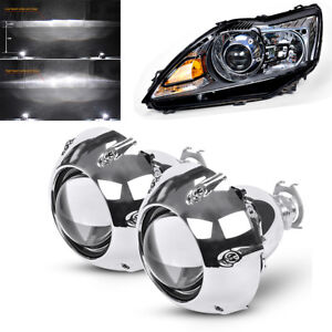 3-Inch-Bi-xenon-Projectors-Lens-With-Shrouds-For-H4-H7-Car-Headlight-Left-Drive