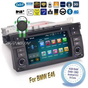 Android-8-0-BMW-E46-Autoradio-M3-MG-ZT-Rover-75-3er-DVD-GPS-DAB-Navi-OBD-7862FR