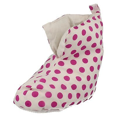 Girls Duvet Ducks Bootee Style Slippers SA-02