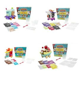 Foodie-Surprise-Food-Carts-x-2-Make-Your-Own-Gummy-Sweets-Candy-Kids-Craft-Toy